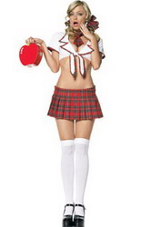 Miss Prep School Costume (Small To Medium)