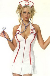 Head Nurse Costume (Small To Medium)