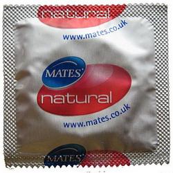 Mates Natural Condoms: 24 pack