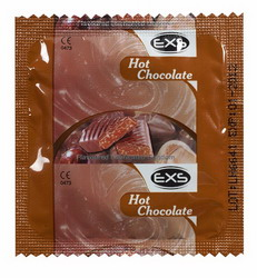 EXS Chocolate Flavoured Condoms: 62 pack