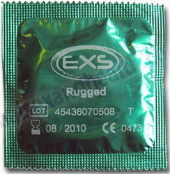 EXS Rugged Dotted Speciality Condoms: 30 pack
