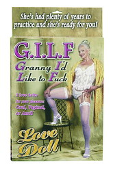 G.I.L.F. Granny I'd Like To Fuck Love Doll