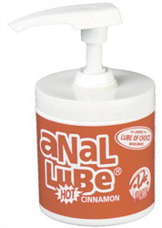 Anal Lube Dispenser: Cinnamon