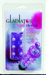 Gladiator Bead Sleeve: Purple