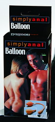 Simply Anal Soft Latex Balloon