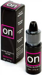 ON Natural Arousal Oil For Her: 5ml Bottle