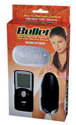 10 Function Remote Control Bullet: Black