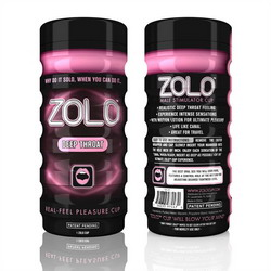 Zolo Deep Throat Cup: Pink