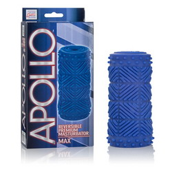Apollo Reversible Premium Masturbator: Max: Blue