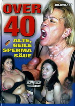 Over 40: Alte, Geile Sperma Saue