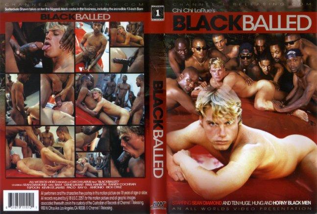 Resultado de imagem para black balled gay porn