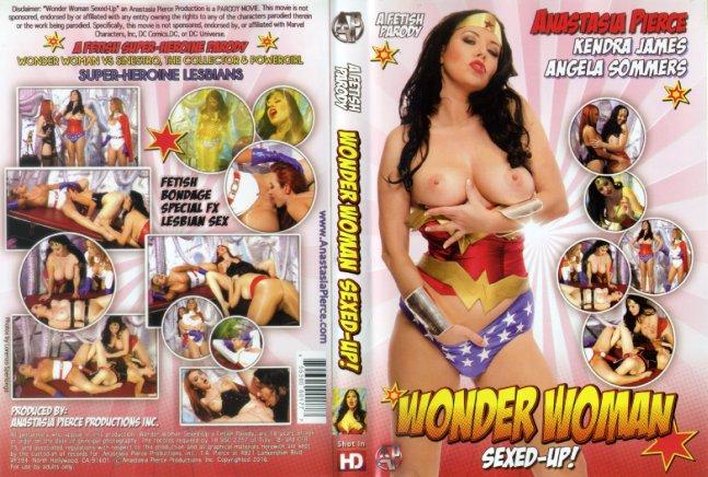 Wonderwomans lesbische porno