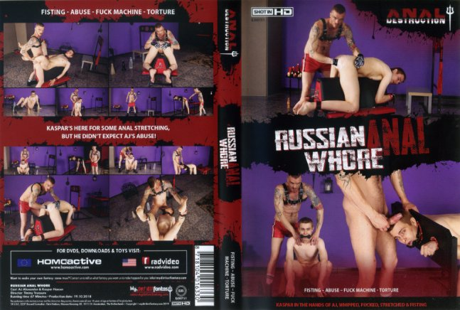 Anal Destruction: Russian Anal Whore My Dirtiest Fantasy