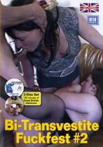Bi-Transvestite Fuckfest 2 (2 Dvds)