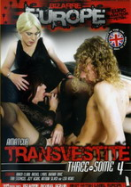 Amateur Transvestite Threesome 4