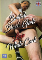 British Black Girls Love White Cock