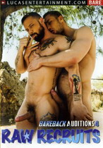 Bareback Auditions 04: Raw Recruits