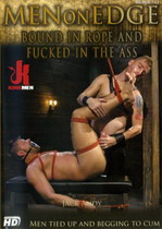 Bound In Rope And Fucked In The Ass