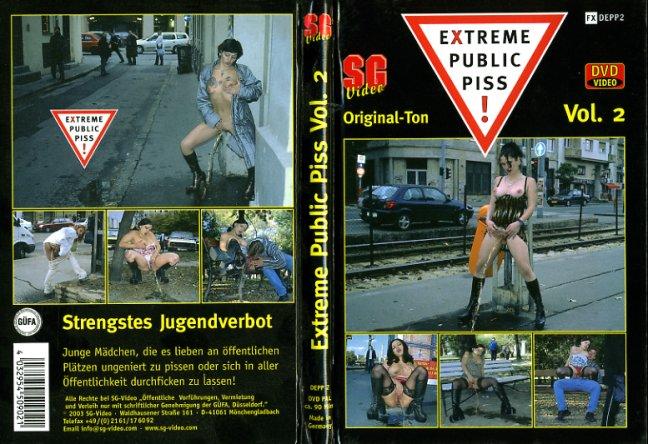 Extreme public piss video porn dvd
