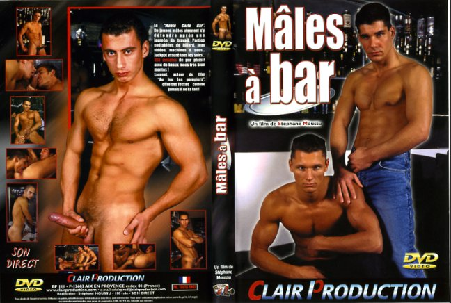 Homosexual porn in the bar