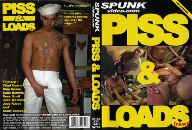 Piss Gay Dvd Spunk