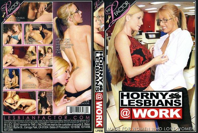Lesbians At Work - Horny Lesbians At Work 1 | The L Factor | XXX Lesbian Porn Dvd