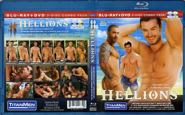 Hellions (Bu-Ray + Dvd) Titan Media