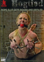 Rope Slut Gets Bound And Defiled