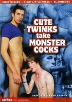 Cute Twinks Take Monster Cocks