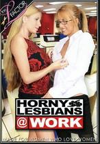 Horny Lesbians At Work 1