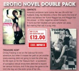 Erotic Novel Double Pack