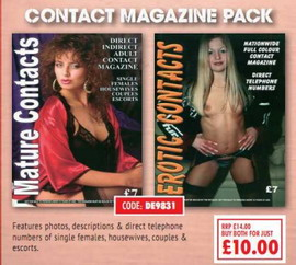 Contact Magazine Pack