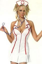 Head Nurse Costume (Medium To Large)