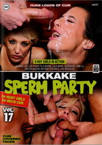 Bukkake Sperm Party 17