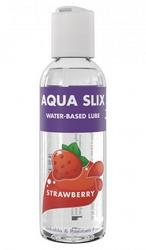 Aqua Slix Strawberry Flavoured Water Based Lubricant