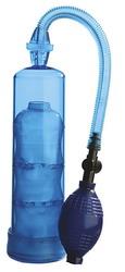 """Extreme Enlargement 7.5"""" Pump Cylinder: Blue"""