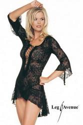 Spanish Style Lace Front Dress Set (Medium To Large)