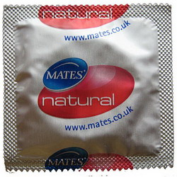 Mates Natural Condoms: 24 pack