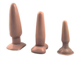 Butt Plug Set: Vanilla Dip
