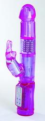 "Exotik Rabbit 6"" Purple Crazy Vibrator"