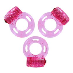 Pleasure Rings: Pink