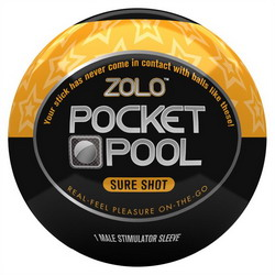 Zolo Pocket Pool Sure Shot: Orange