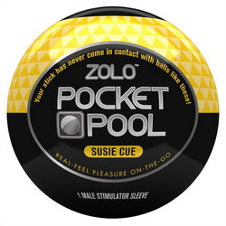 Zolo Pocket Pool Susie Cue: Yellow