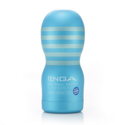TENGA Deep Throat Cup: Cool Edition