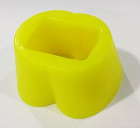 Zizi Radar Ball Stretcher: Yellow Fluo