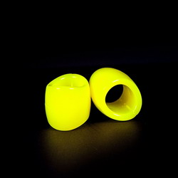 Zizi Plasma Ball Stretcher: Yellow Fluo