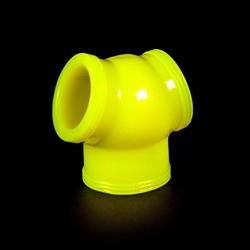 Zizi Megaman Cock Sling: Yellow Fluo