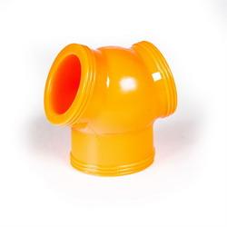Zizi Megaman Cock Sling: Orange Fluo